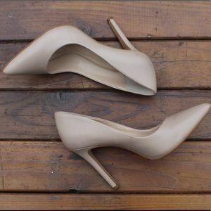 Vince Camuto Savilla leather Pumps | Nude | 7.5